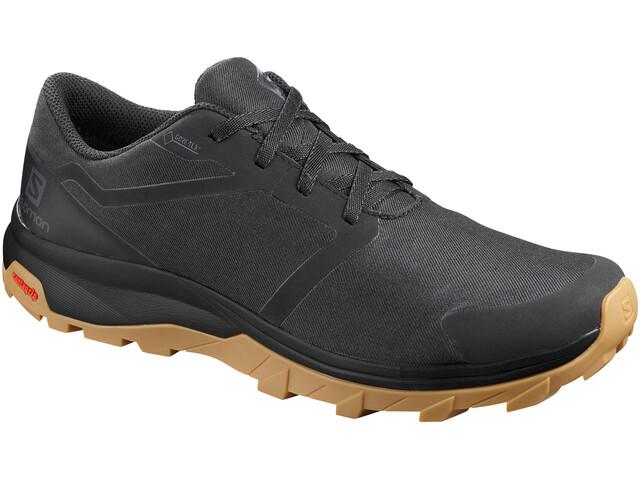 berühmte Designermarke 100% Spitzenqualität 2020 Salomon Outbound GTX Schuhe Herren black/black/gum1a